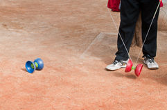 Diabolo game Stock Photos