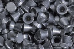 Diabolo pellets. Full frame background with lots of diabolo pellets Stock Image