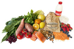 Diabète Superfoods Photographie stock libre de droits