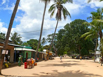 DIACA, MOZAMBIGUE - 4 DESEMBER 2008: the Village. A residential Royalty Free Stock Photo