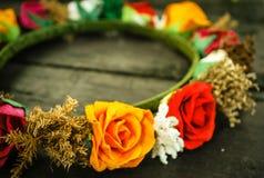 Diademów kwiaty Obrazy Royalty Free