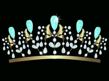 diadem stock illustrationer