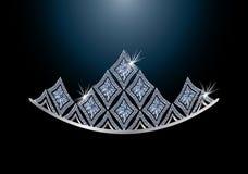 Diadem del diamante Immagine Stock Libera da Diritti