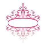 Diadem. elegance feminine tiara with reflection Stock Photo