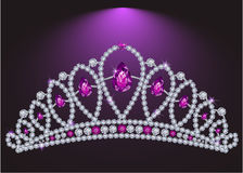 Diadema del diamante royalty illustrazione gratis