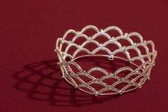 Diadema della corona della sposa Immagini Stock