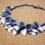 Diademe handmade от глины и провода полимера Стоковая Фотография RF