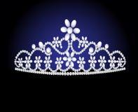 diademu ślub kobiecy perełkowy royalty ilustracja