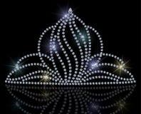 Diadème de diamant Photos libres de droits