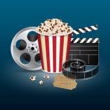 Diafilme com bilhete do vintage Fotografia de Stock Royalty Free