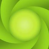 Diafragma abstrato verde Imagem de Stock Royalty Free