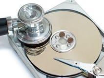 Diagnóstico de los datos Foto de archivo libre de regalías
