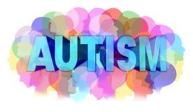 Diagnóstico do autismo ilustração royalty free
