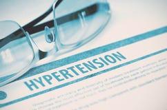 Diagnóstico - hipertensão Conceito MÉDICO ilustração 3D Foto de Stock