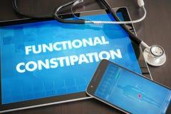 Diagn funcional da constipação (doença gastrintestinal relativa) ilustração stock