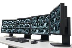Diagnose im Krankenhaus Stockbilder