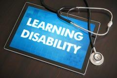 Diagnose medizinische Co der Lernbehinderung (neurologische Erkrankung) stockfotografie