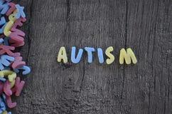 Diagnosi di autismo immagine stock