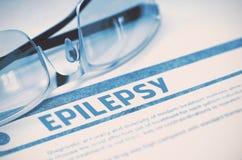 Diagnosi - epilessia Concetto MEDICO illustrazione 3D Fotografie Stock Libere da Diritti