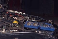 .Diagnosis of car engine failure. Diagnosis of car engine failure stock photo
