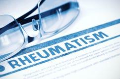 Diagnosis - reumatismo Concepto de la medicina ilustración 3D Foto de archivo libre de regalías