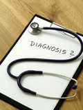 Diagnosis and treatment - medical investigation Royalty Free Stock Images