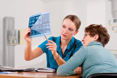Diagnostic center Stock Image