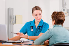 Diagnostic center Stock Photography