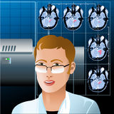 The diagnostic Royalty Free Stock Photo