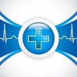 Diagnostics button Royalty Free Stock Photo