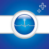Diagnostics button Stock Image