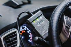 Diagnostics cars auto repair process stock images