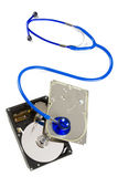 Diagnostics HDD Royalty Free Stock Images