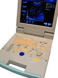 diagnostisk digital bildskärm för kardiovaskulär färg Arkivfoton