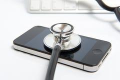 diagnostyk online zdjęcia stock