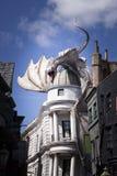 Diagon AlleyÂs drake arkivbild