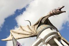 Diagon AlleyÂs drake royaltyfri bild