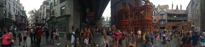 Diagon Alley. Islands of adventure universal studios Stock Photography
