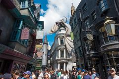 Diagon Alley Universal Studios Royalty Free Stock Image