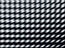 Diagonaal cilindrisch motiepatroon Royalty-vrije Stock Foto