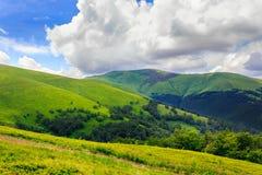 Diagonaal landschap Royalty-vrije Stock Afbeelding