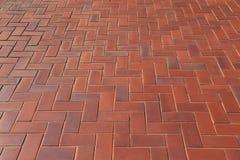 Diagonaal patroon van baksteenbetonmolens in een Visgraatstijl voor rug Royalty-vrije Stock Fotografie
