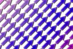 Diagonal 03 de las flechas Foto de archivo