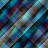 Diagonal abstract pattern with dots. Stock Image