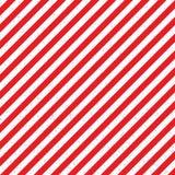 Diagonal abstrata listrada com as listras vermelhas e brancas Ilustração Fotografia de Stock Royalty Free