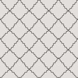 Diagonal abstrata textura sem emenda curvada da grade listrada Imagem de Stock
