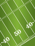 Diagonal American Football Field Background Royalty Free Stock Photo