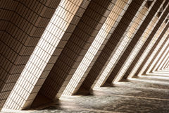 Diagonal Architectural Abstract Stock Photography