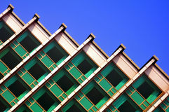 Diagonal architectural structure Royalty Free Stock Image