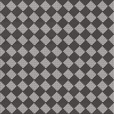 Diagonal black and white seamless fabric texture pattern Stock Image
